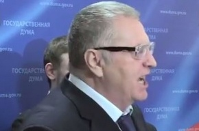 Жириновский устроил скандал в Госдуме, оскорбив беременную журналистку