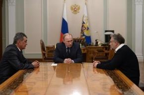 Путин проговорился о досрочных выборах губернатора Петербурга