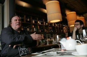 Жерар Депардье откроет в Петербурге ресторан