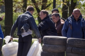 В Луганске захвачено здание обладминистрации