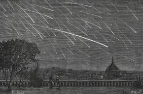 Метеорный поток Лириды будет виден из Петербурга и Крыма