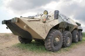 Украинские военные на БМП перешли на сторону ополчения в Донецкой области