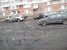 Фоторепортаж: ««Красивый Петербург» собирает адреса газонов, уничтоженных стихийной парковкой »