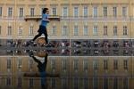 Фоторепортаж: «Оперные певцы выступили для петербуржцев на Дворцовой площади 25 мая 2014 »