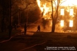 В Петербурге произошел пожар в психиатрической больнице Скворцова-Степанова: Фоторепортаж