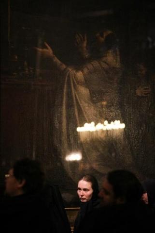 В праздник Вознесения в Казанском соборе Петербурга совершили литургию 29 мая 2014: Фото