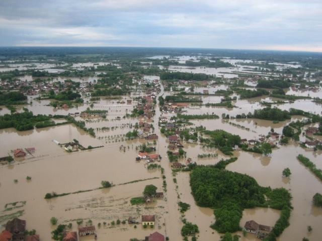 Наводнение на Балканах, май 2014 (2): Фото