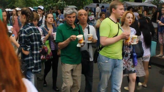 В Петербурге состоялся Фестиваль мороженого 25 мая 2014: Фото