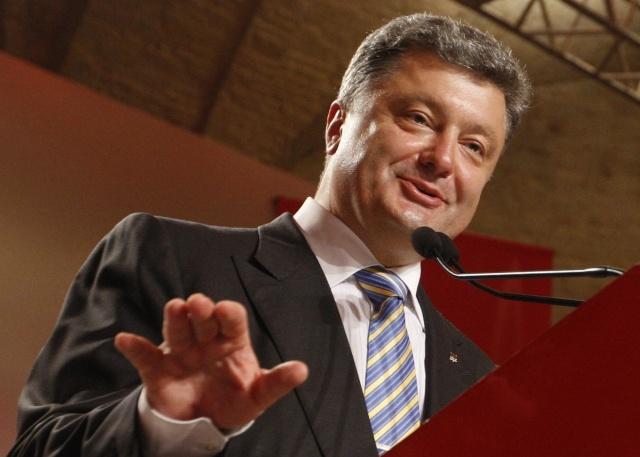 Петр Порошенко на выборах президента Украины  25 мая 2014 : Фото
