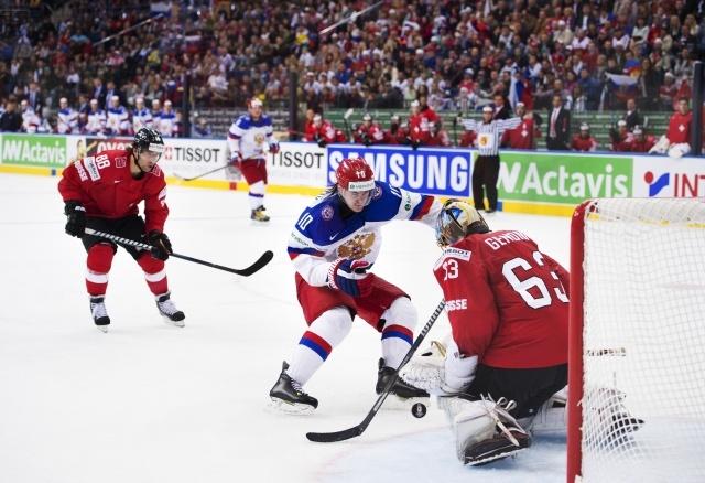 Сборная России разгромила команду Швейцарии в стартовом матче ЧМ-2014: Фото