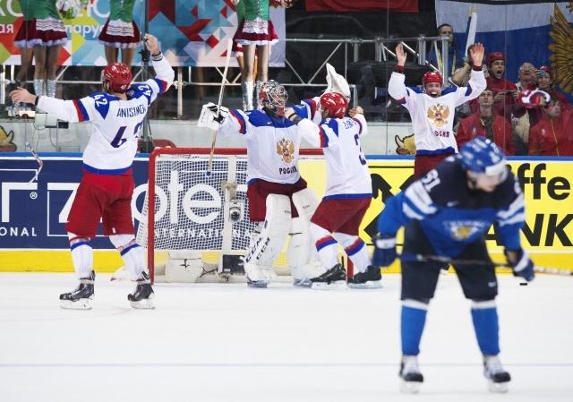 В финальном матче 25 мая в Минске сборная России по хоккею победила команду Финляндии: Фото