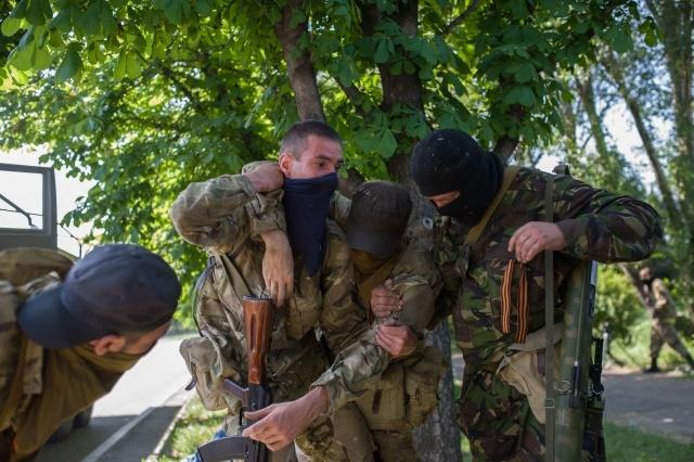 Бои в Донецке 26 мая 2014 : Фото