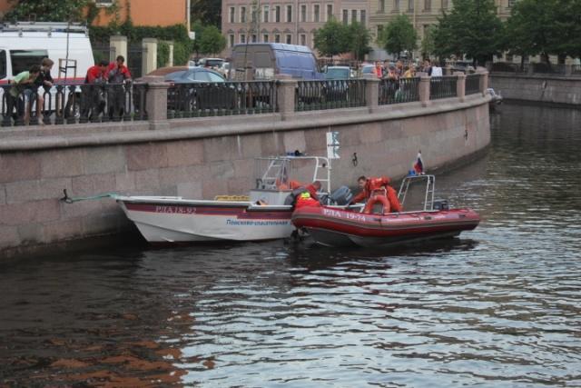 В Петербурге мужчина утопился в канале Грибоедова: Фото