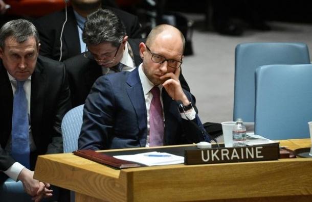 Яценюк: Украина исключает возможность переговоров с Россией