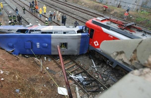 Четыре человека погибло в столкновении поездов в Подмосковье