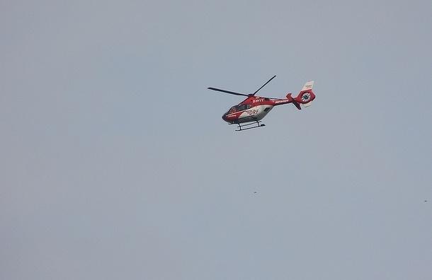 Под Петербургом пропал вертолет с бизнесменом