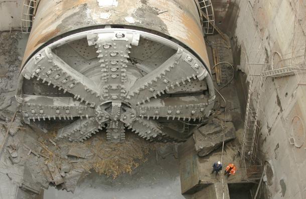 На строительстве Фрунзенского радиуса сломался тоннелепроходческий щит