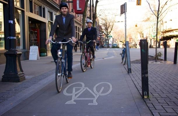 В Смольном рассказали, в каких районах построят велодорожки