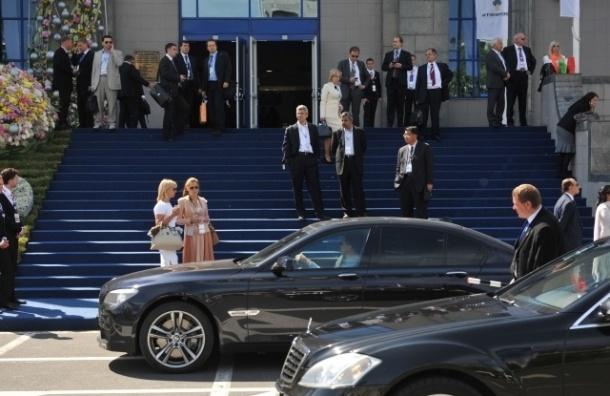 ПМЭФ-2014 ограничит движение транспорта в центре Петербурга