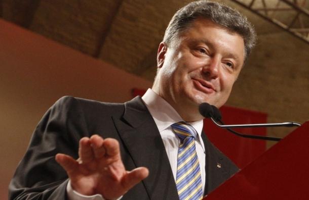 Петр Порошенко побеждает в первом туре  на выборах президента Украины