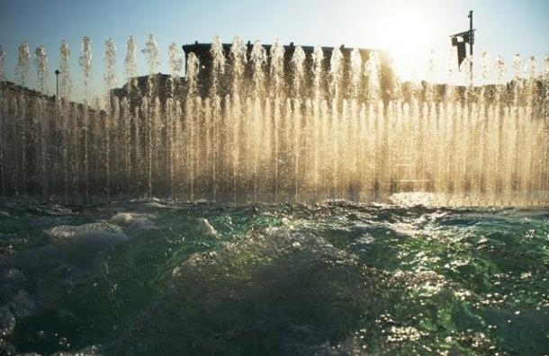 В День Победы в Петербурге заработают музыкальные фонтаны