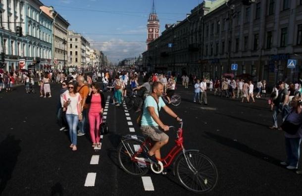 Невский может стать пешеходной зоной уже в 2015 году