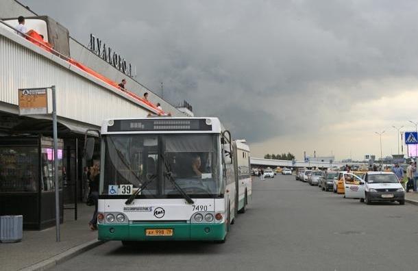 От метро «Московская» до «Пулково» будет ходить автобус-экспресс