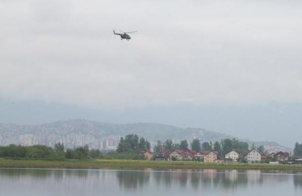 В Ленобласти найден пропавший  13 мая вертолет