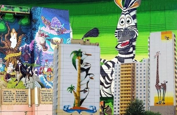 Судьбу граффити в Шушарах решит Градсовет