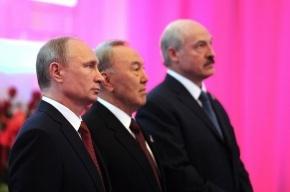 Путин, Лукашенко и Назарбаев подписали договор о Евразийском союзе