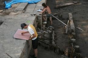 В Петербурге обнаружено захоронение времен основания города
