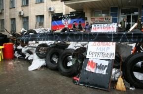 Под Краматорском идет бой между активистами и Нацгвардией