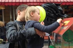 На Малой Садовой собирают пожертвования для детей-сирот