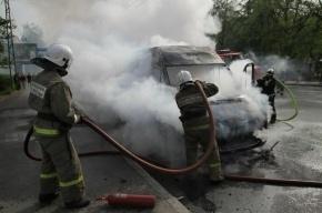 В массовой аварии  с маршруткой на Пулковском шоссе пострадали двое