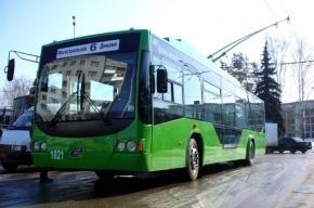 В Петербурге появились троллейбусы на автономном ходу