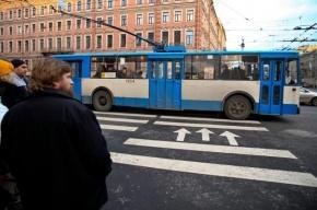 В Выборгском районе Петербурга столкнулись маршрутка и троллейбус