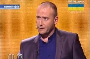 Лидер «Правого сектора» призвал к партизанской войне в Крыму и на Донбассе