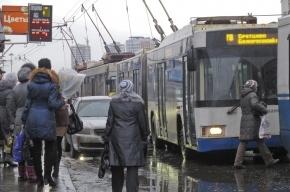 Задержан водитель внедорожника, обстрелявший троллейбус в центре Москвы