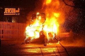 В Петербурге мужчина сгорел в собственном автомобиле