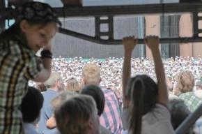 На Биржевой площади споет хор из 700 школьников
