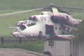 Нацгвардия использовала под Краматорском вертолеты с символикой ООН