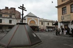 В Петербурге горит Апраксин двор