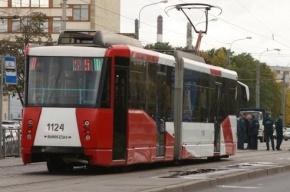 «Лада» не пропустила трамвай и остановила движение на Бухарестской