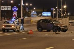 В трех ДТП на КАД столкнулись 12 автомобилей