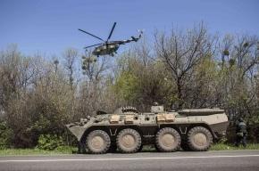 Минобороны Украины: под Славянском уничтожен бронепоезд