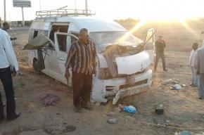 В Египте перевернулся автобус с российскими туристами