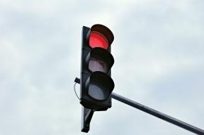 На Невском проспекте из-за дождя не работают светофоры