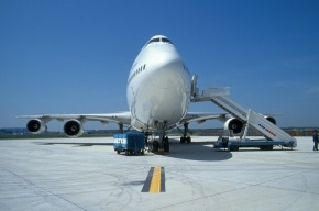 В Домодедово из самолета выпала греческая стюардесса