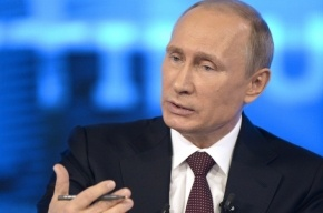 Путин призвал перенести референдум на востоке Украины