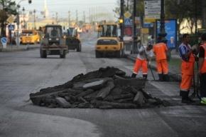 Смольный ставит антирекорд по срокам ремонта дорог в Петербурге
